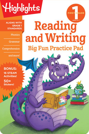 First Grade Reading and Writing Big Fun Practice Pad by Highlights Learning