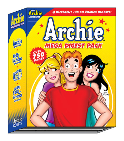 Archie Mega Digest Pack by Archie Superstars