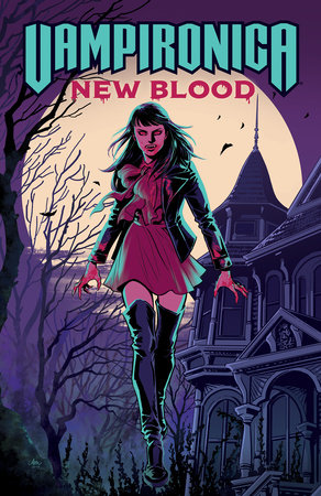 Vampironica: New Blood by Frank Tieri and Michael Moreci