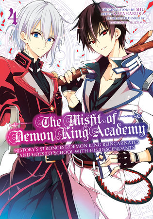 The Misfit of Demon King Academy 04 by Shu and Kayaharuka