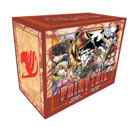 FAIRY TAIL Manga Box Set 3 by Hiro Mashima
