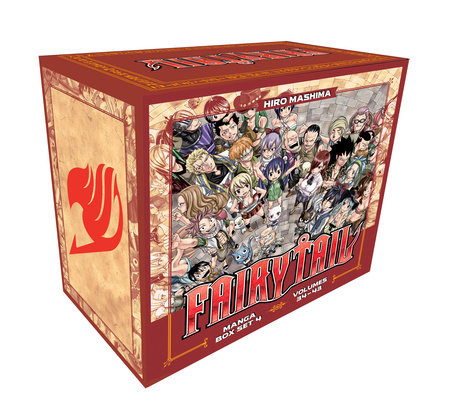 FAIRY TAIL Manga Box Set 4 by Hiro Mashima
