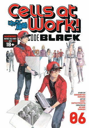 Cells at Work! CODE BLACK 6 by Shigemitsu Harada