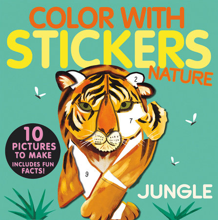 Color with Stickers: Jungle by Jonny Marx