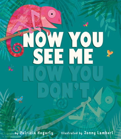 Now You See Me, Now You Don't by Patricia Hegarty