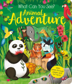 What Can You See? Animal Adventure