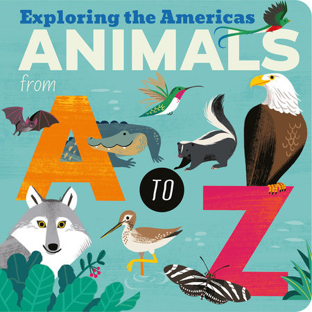 Animals from A to Z by Amelia Hepworth