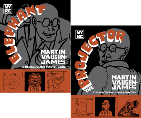 The Projector and Elephant by Martin Vaughn-James