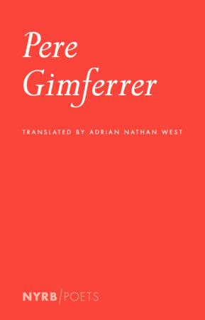 Pere Gimferrer by Pere Gimferrer