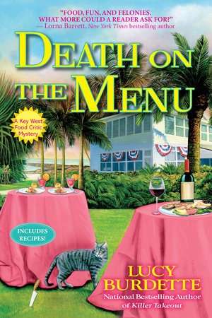 Death on the Menu by Lucy Burdette