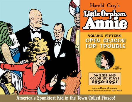 Complete Little Orphan Annie Volume 15 by Harold Gray