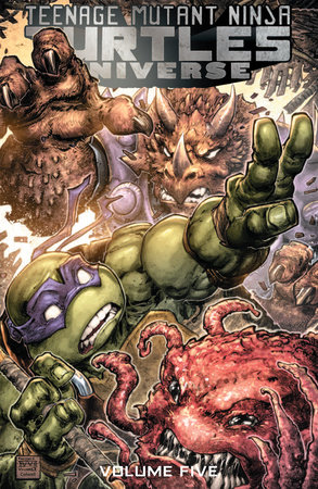 Teenage Mutant Ninja Turtles Universe, Vol. 5: The Coming Doom by Paul Allor; Mark Torres; Ian Flynn; Pablo Tunica; Rich Douek