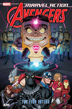 Marvel Action: Avengers: The Fear Eaters (Book Three) by Matthew K. Manning