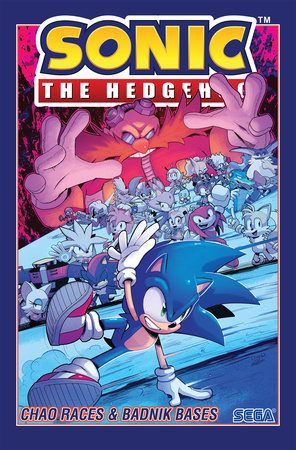 Sonic The Hedgehog, Vol. 9: Chao Races & Badnik Bases by Evan Stanley