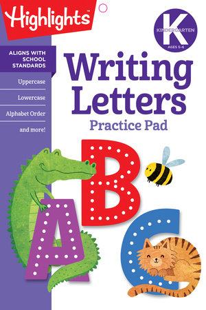 Kindergarten Writing Letters by