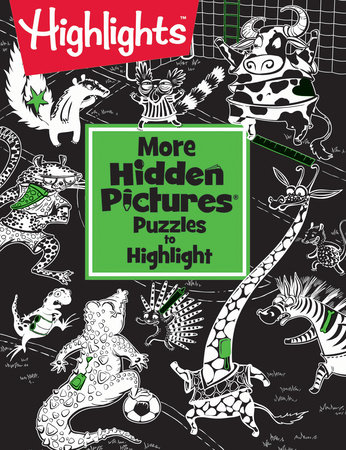 More Hidden Pictures® Puzzles to Highlight by Highlights