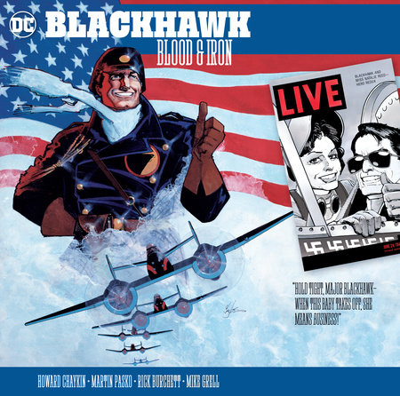 Blackhawk: Blood & Iron by Howard Chaykin