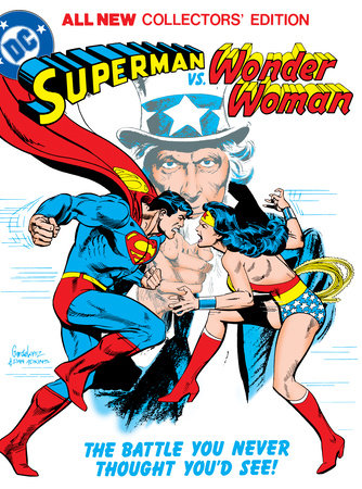 Superman vs. Wonder Woman (Tabloid Edition) by Gerry Conway