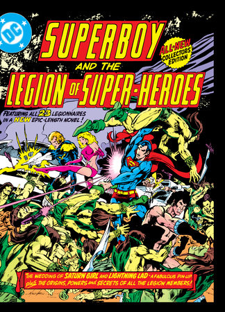 Superboy and the Legion of Super-Heroes (Tabloid Edition) by Paul Levitz