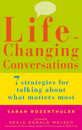 Life-Changing Conversations by Sarah Rozenthuler