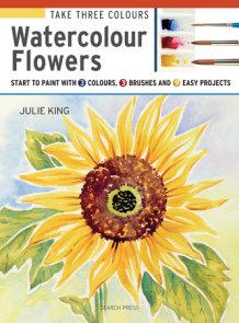 Take Three Colours: Watercolour Flowers