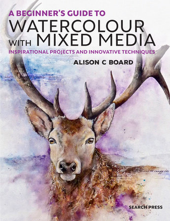 A Beginner' s Guide to Watercolour with Mixed Media by Alison C Board