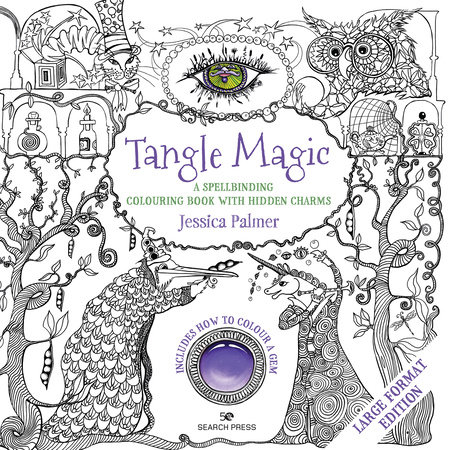 Tangle Magic - Large Format Edition by Jessica Palmer