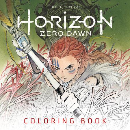 Horizon Zero Dawn Official Coloring Book by