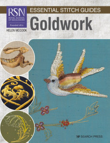 RSN Essential Stitch Guides: Goldwork - Large Format Edition
