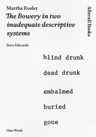Martha Rosler by Steve Edwards
