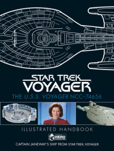 Star Trek: The U.S.S. Voyager NCC-74656 Illustrated Handbook Plus Collectible