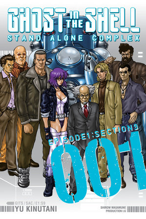 Ghost in the Shell: Stand Alone Complex 1 by Yu Kinutani