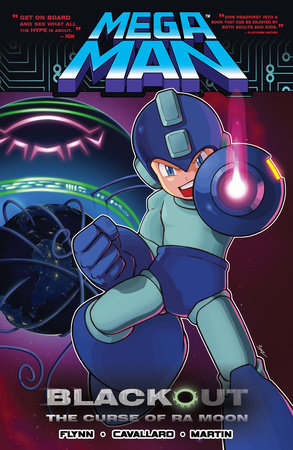 Mega Man 7: Blackout: The Curse of Ra Moon by Ian Flynn