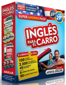 Curso de inglés para el carro (Inglés en 100 días) / English in the Car. Ahorro Audio Pack