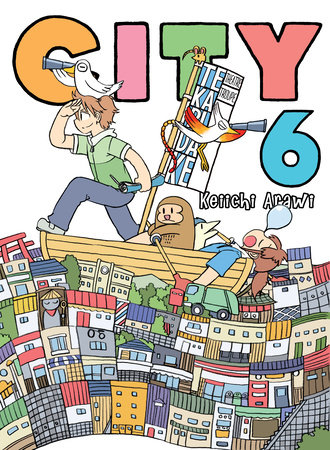 CITY, volume 6 by Keiichi Arawi