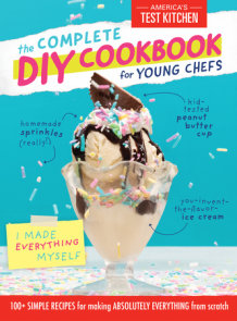 The Complete DIY Cookbook for Young Chefs