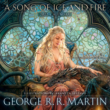 A Song of Ice and Fire 2022 Calendar by George R. R. Martin