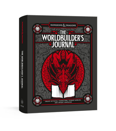 The Worldbuilder's Journal of Legendary Adventures (Dungeons & Dragons) by Official Dungeons & Dragons Licensed