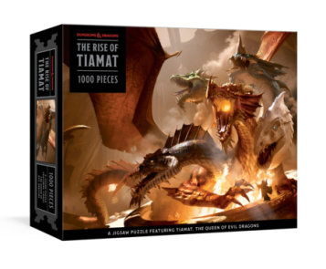 The Rise of Tiamat Dragon Puzzle (Dungeons & Dragons)