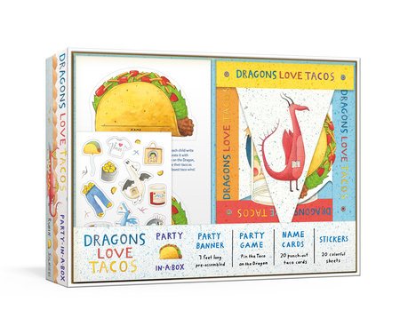Dragons Love Tacos Party-in-a-Box by Adam Rubin