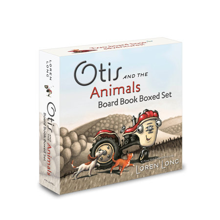 Otis and the Animals Board Book Boxed Set by Loren Long