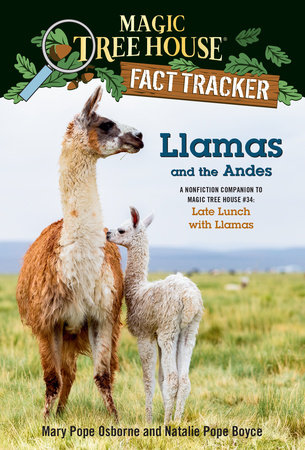 Llamas and the Andes by Mary Pope Osborne and Natalie Pope Boyce