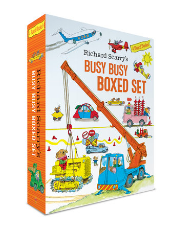 Richard Scarry's Busy Busy Boxed Set by Richard Scarry