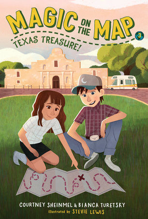 Magic on the Map #3: Texas Treasure by Courtney Sheinmel and Bianca Turetsky