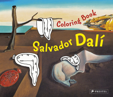 Coloring Book Dali by Doris Kutschbach