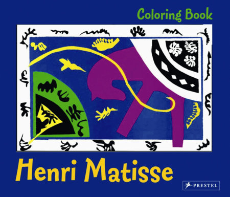 Coloring Book Matisse by Annette Roeder