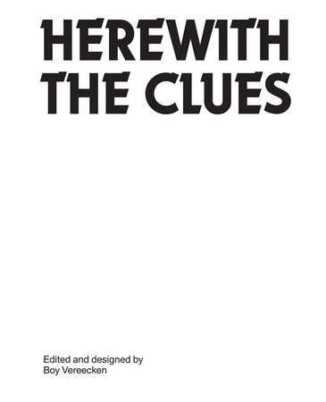Herewith the Clues by