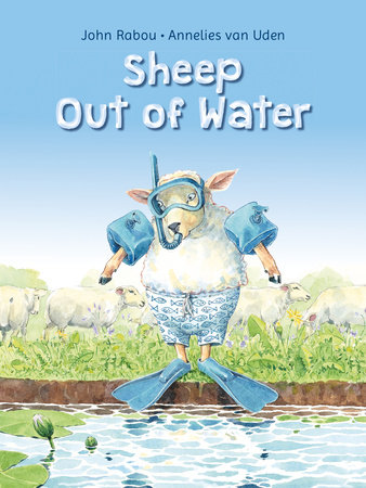 Sheep Out of Water by Annelies van Uden